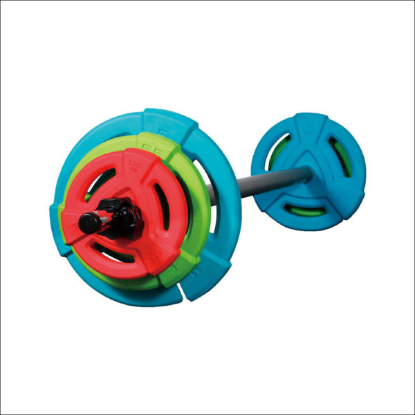Studio Rubber barbell set
